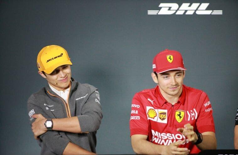 Norris e Leclerc