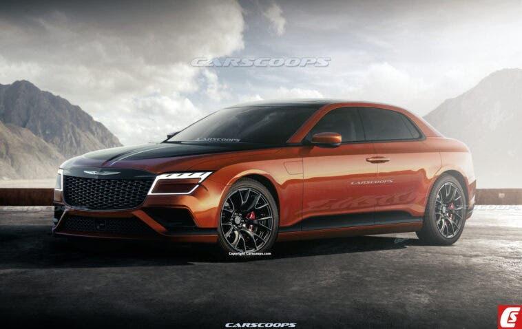 Nuova Chrysler 300 render