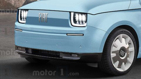Nuova Fiat 126 elettrica render