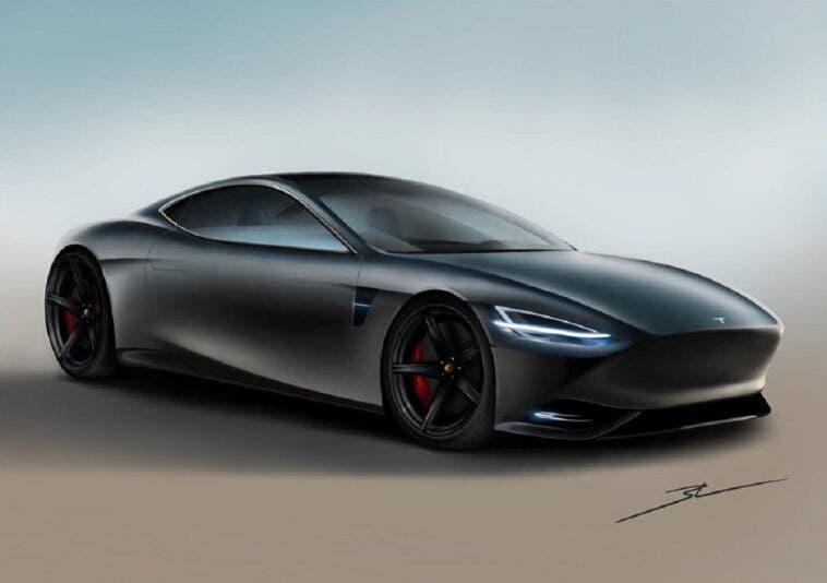 Tesla X Ferrari