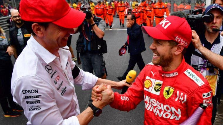 Vettel e Wolff