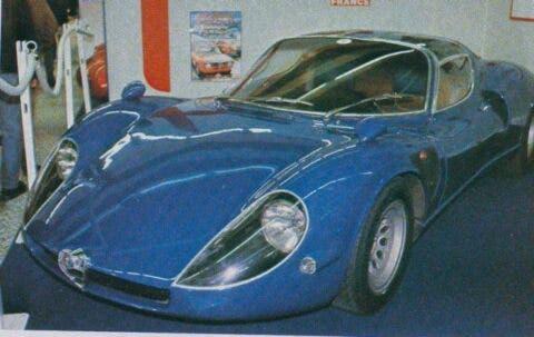 Alfa Romeo 33 Stradale Blu - 1