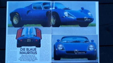 Alfa Romeo 33 Stradale Blu - 2