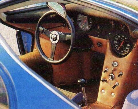 Alfa Romeo 33 Stradale Blu - 5