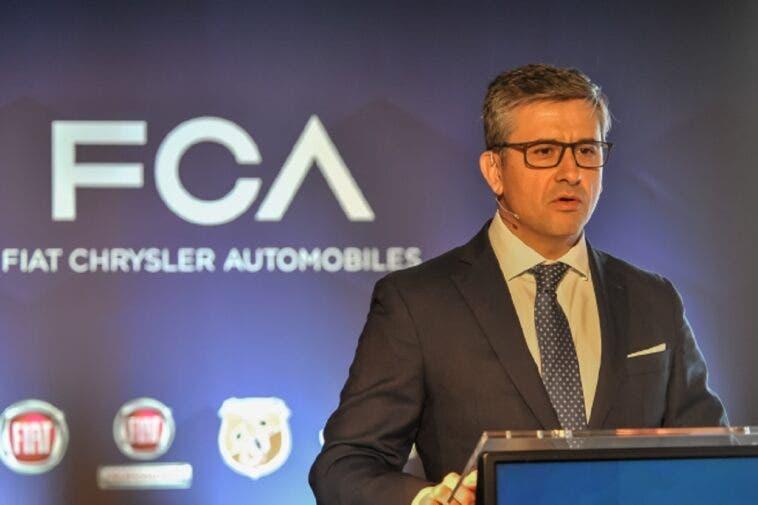 Alberto de Aza, CEO di Fiat Chrysler Spagna e Portogallo