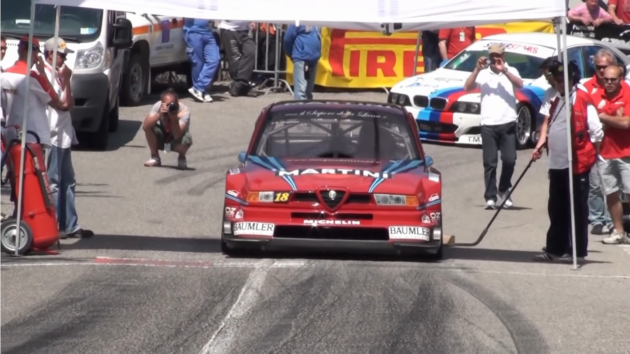 Alfa Romeo 155 GTA vs 155 DTM
