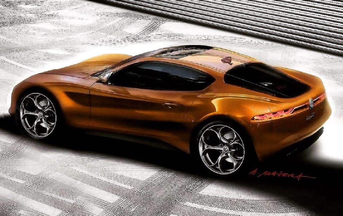 Alfa Romeo Montreal 2020 Masera