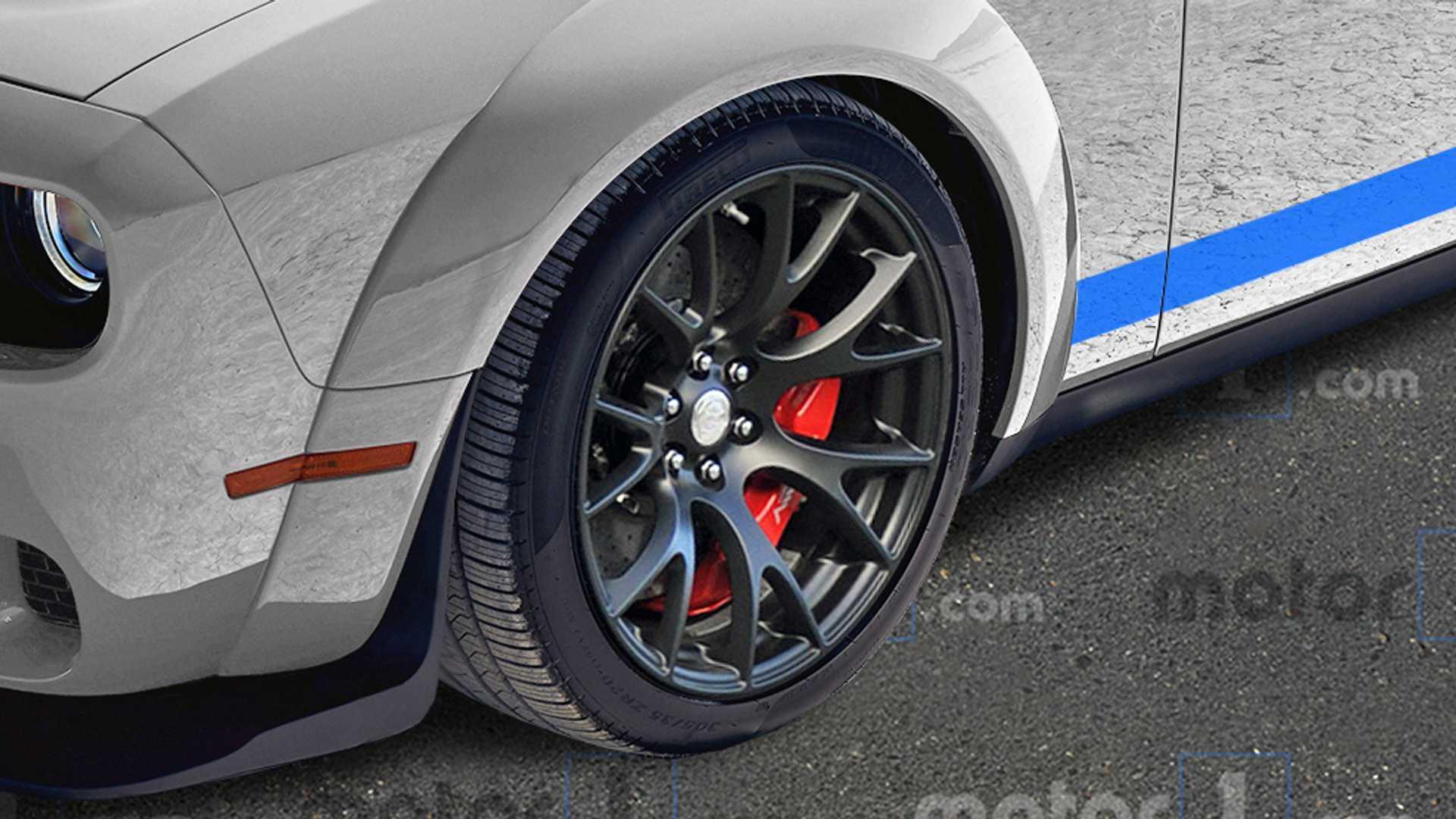 Dodge Challenger ACR 2021 render