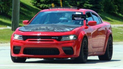 Dodge Charger SRT Hellcat Widebody 2021 foto spia