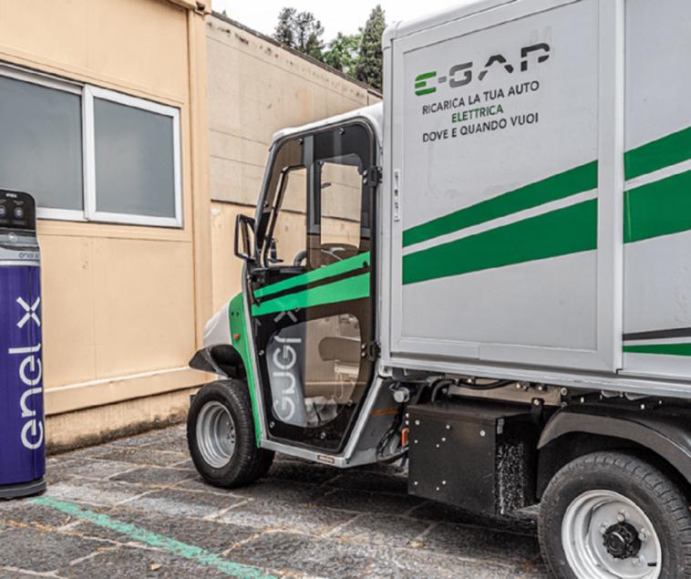 Enel X servizio E-GAP auto elettriche