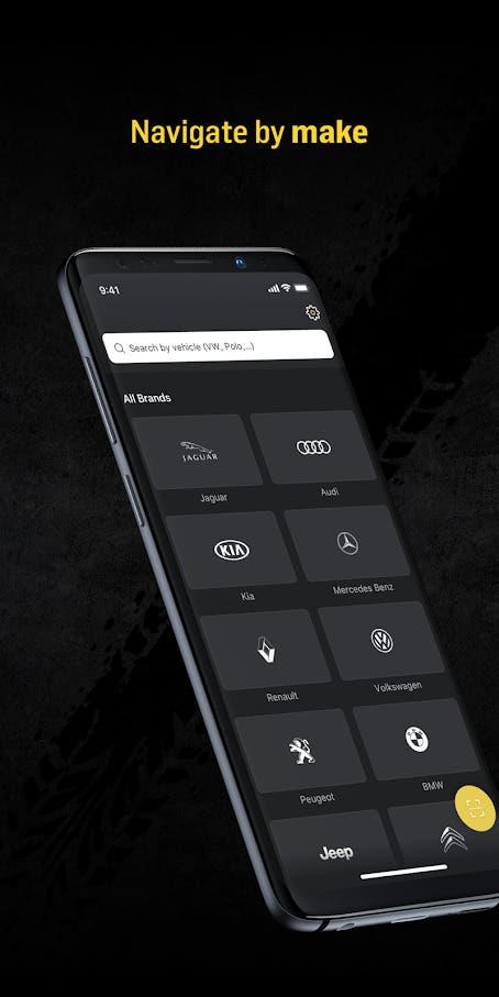 Euro NCAP app Euro Rescue