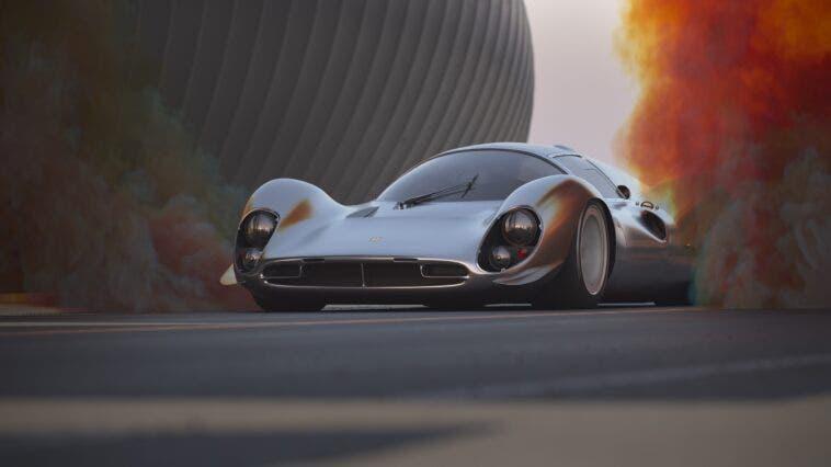 Ferrari 330 P moderna render