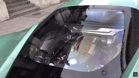Ferrari 488 Pista Verde Francesca