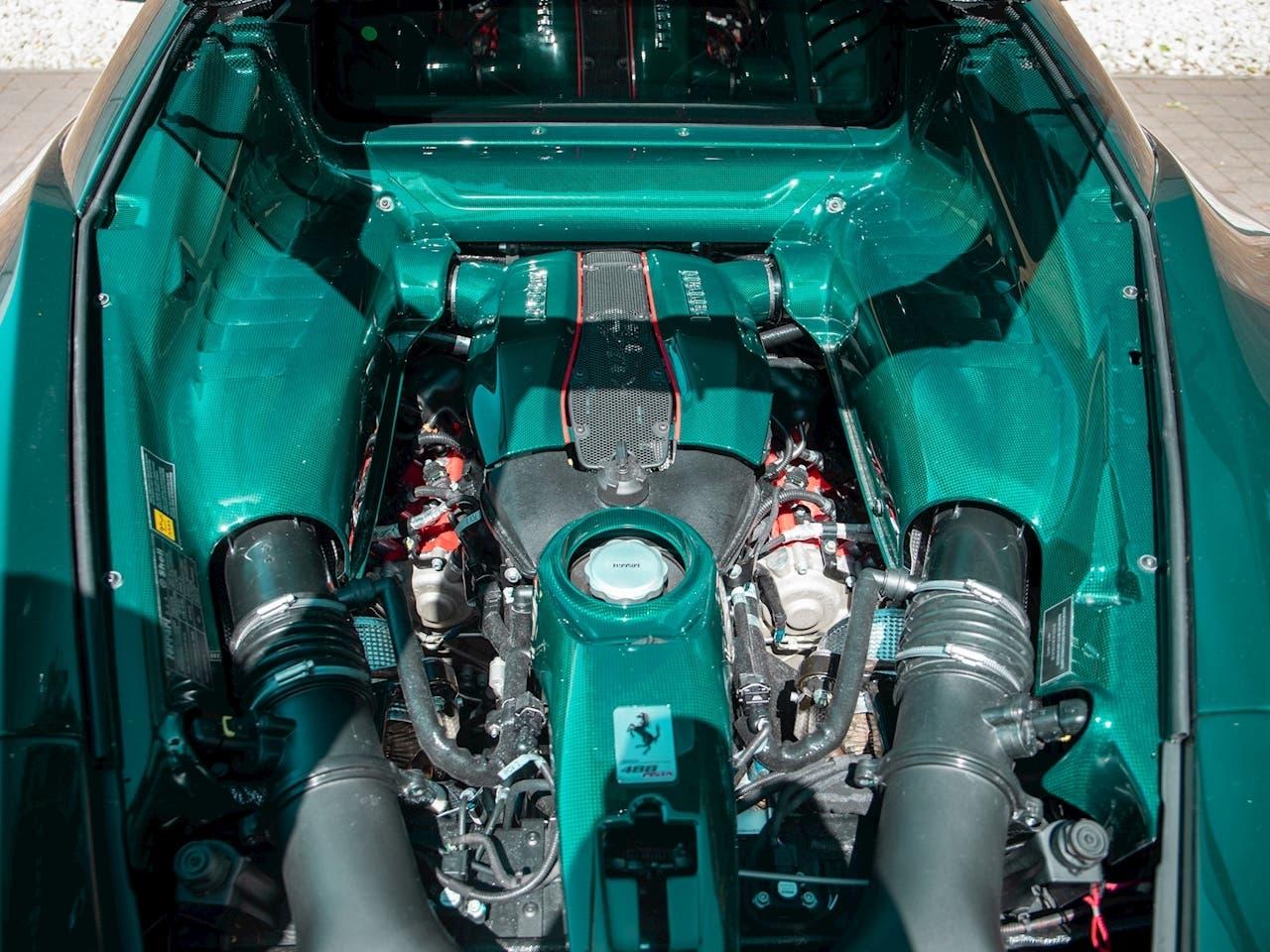 Ferrari 488 Pista vari optional