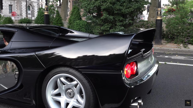 Ferrari F50 scarico dritto