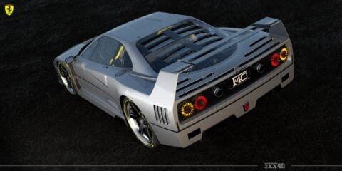Ferrari FXX40 render
