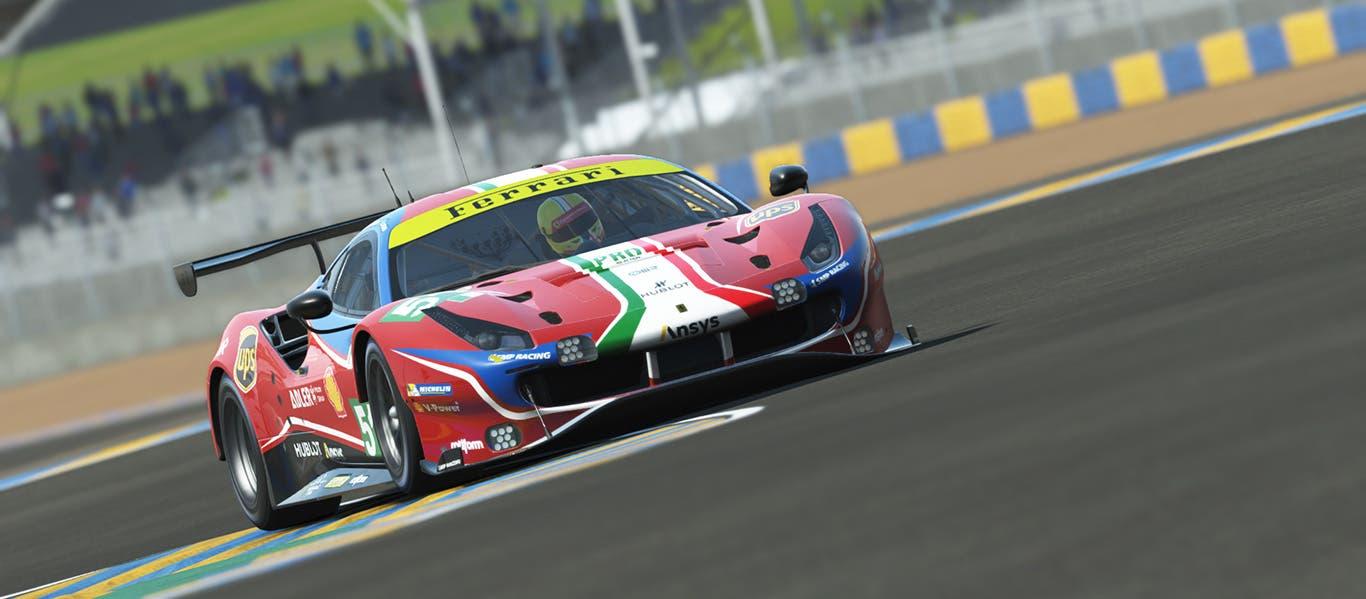 Ferrari Le Mans virtuale