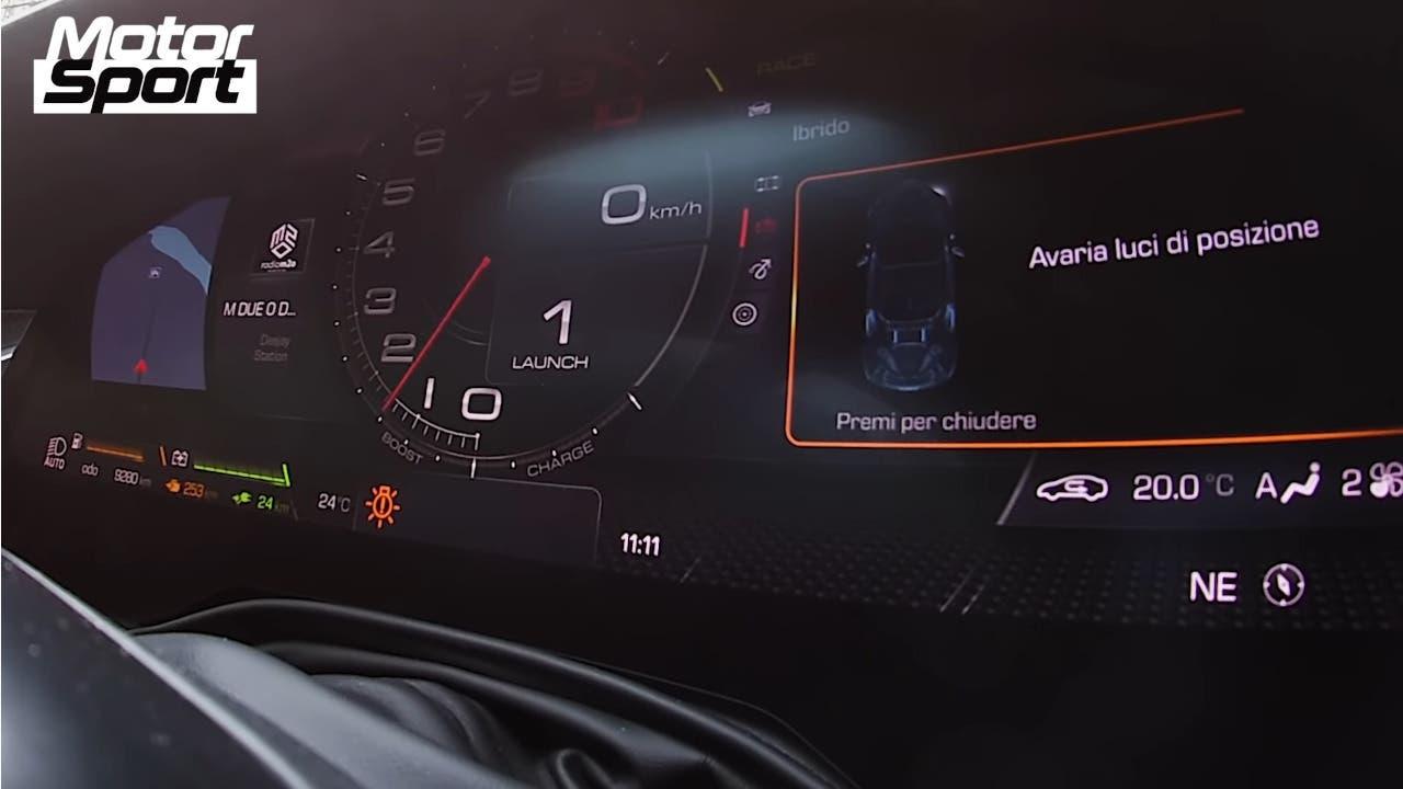 Ferrari SF90 Stradale 0-200 km/h