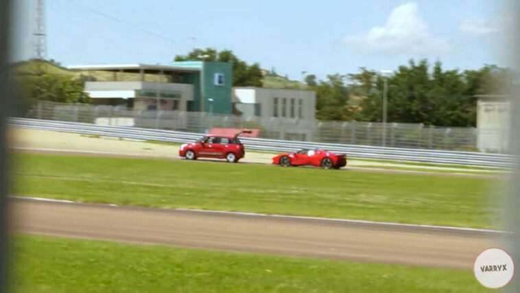 Ferrari SF90 Stradale Fiat 500L video