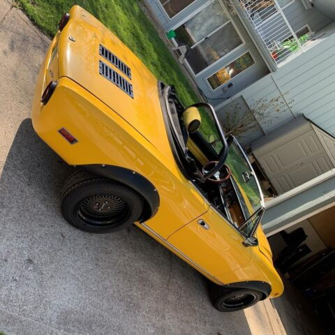 Fiat 124 Sport Spider motore V8 Ferrari
