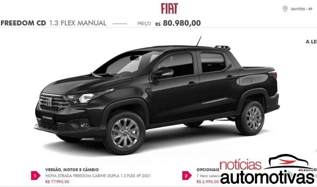 Fiat Strada 2021 prezzi versioni