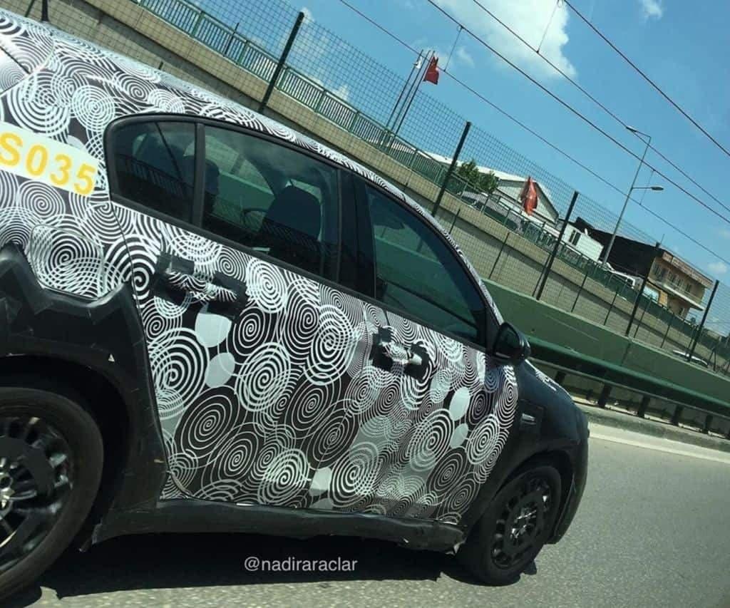 Fiat Tipo 2021 foto spia Turchia