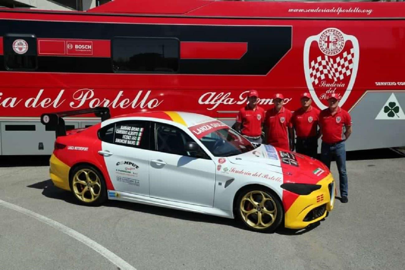 Alfa Romeo Giulia Quadrifoglio Corse 1