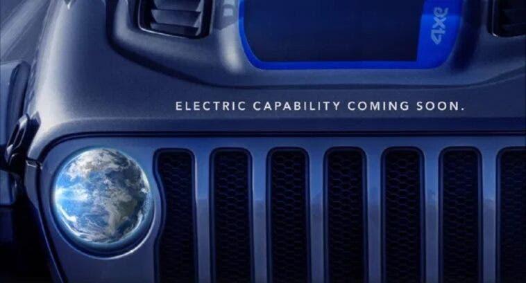 Jeep Wrangler 4xe teaser