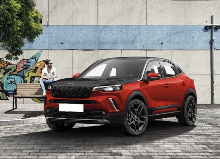 Jeep baby SUV Opel Mokka render