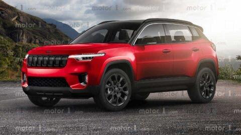 Jeep baby SUV render