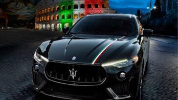 Maserati Levante GTS e Trofeo livrea Italia