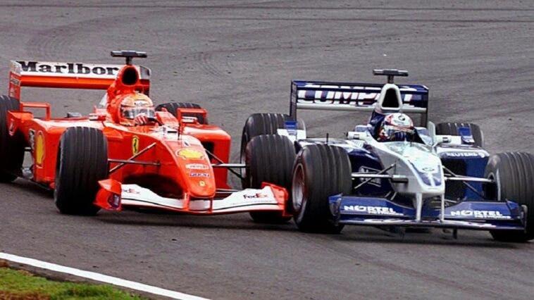 Michael Schumacher e Juan Pablo Montoya