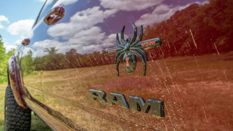 Ram 2500 Black Widow Edition