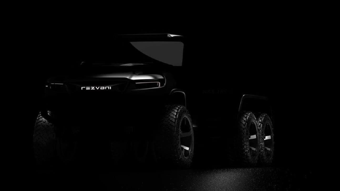 Rezvani Hercules 6x6 Jeep Wrangler teaser