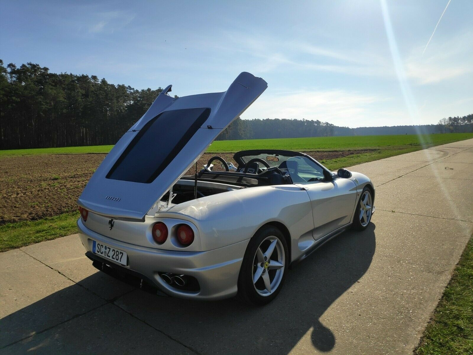 Toyota MR2 replica Ferrari 360 Spider