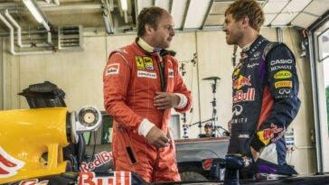 Vettel e Berger