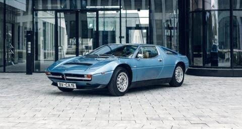 Maserati Merak 6