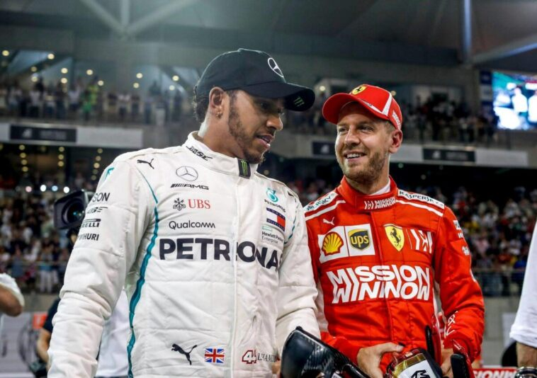 Vettel e Hamilton