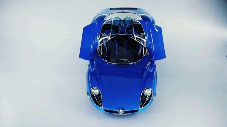 Alfa Romeo 33 Stradale Blu - 7