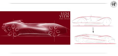 Alfa Romeo Mille Miglia Spider