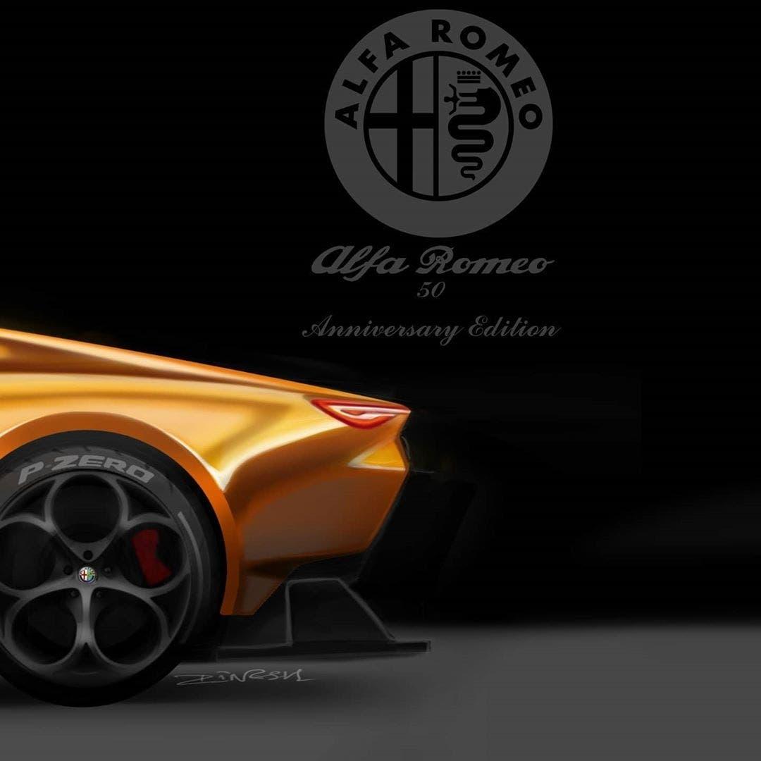 Alfa Romeo Montreal moderna render