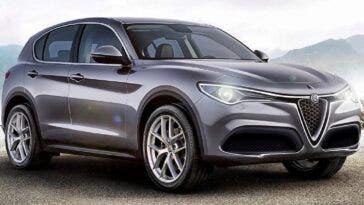 Alfa Romeo Stelvio nuovo restyling render