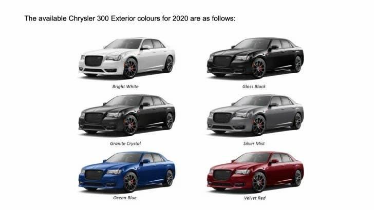 Chrysler 300 SRT aumento prezzo Australia