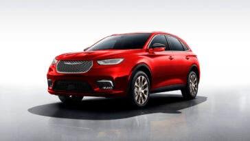 Chrysler Aspen SUV render