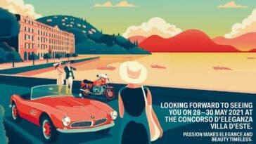 Concorso d'Eleganza Villa d'Este maggio 2021