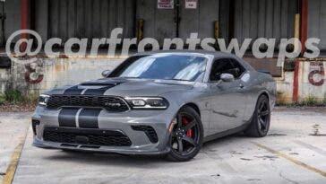 Dodge Challenger SRT Hellcat Durango render