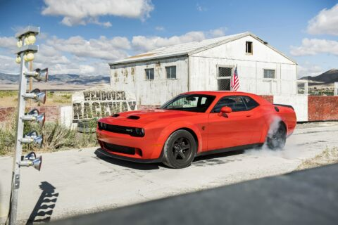 Dodge Challenger SRT Super Stock