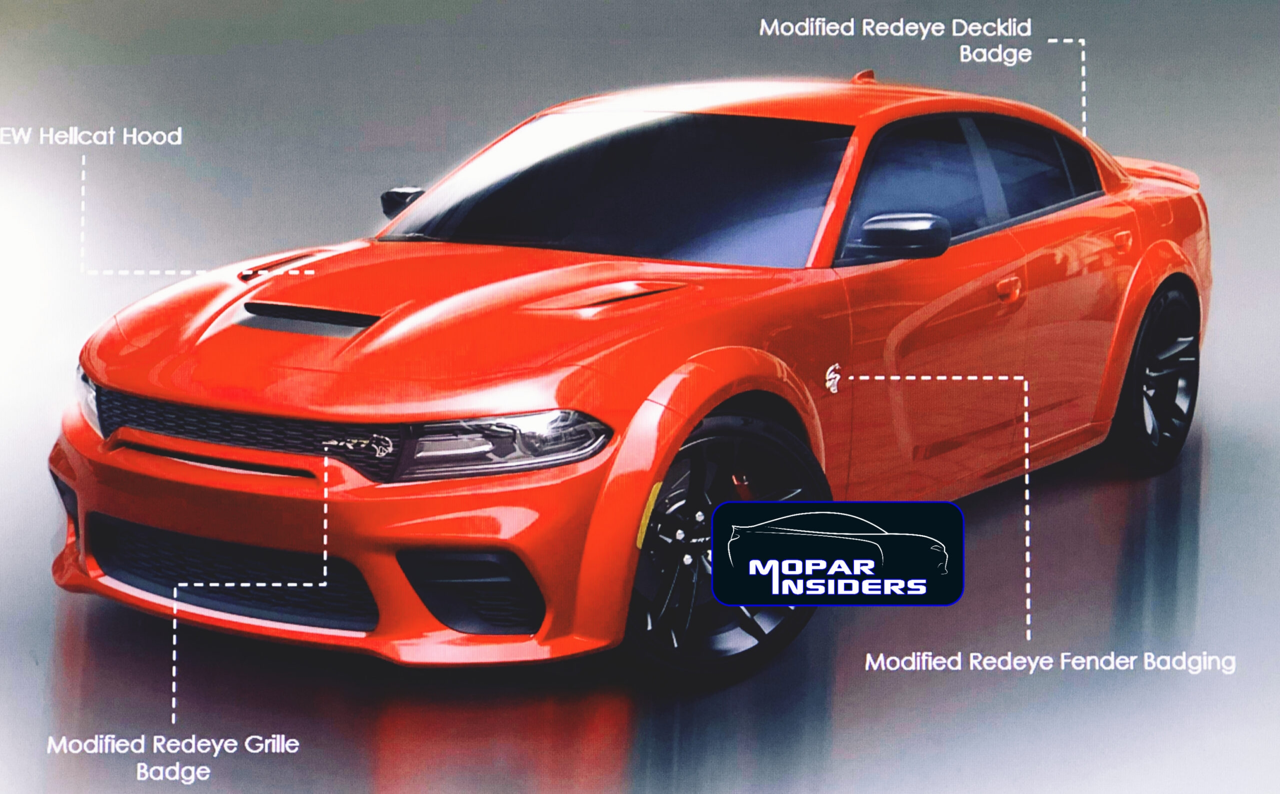 Dodge Charger SRT Hellcat 2021 ed Hellcat Redeye foto