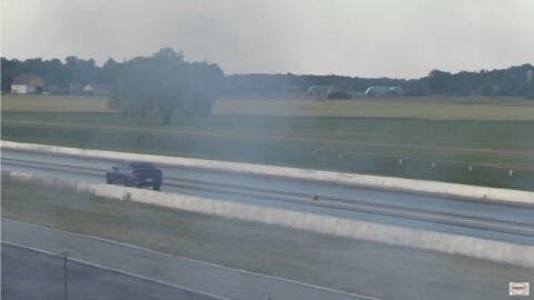 Dodge Charger SRT Hellcat drag race Wheels