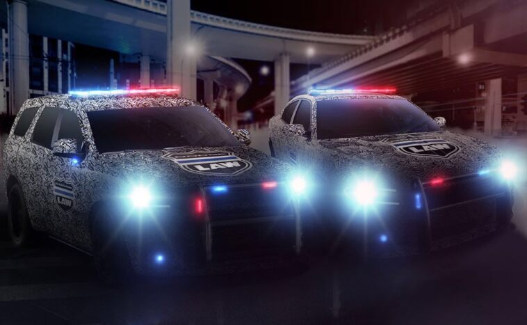Dodge Durango Pursuit 2021 teaser